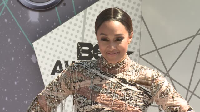 Tia Mowry at 2016 BET Awards in Los Angeles CA