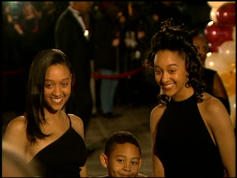 tia mowry at the naacp 28th annual image awards on february 8, 1997. - naacp stock videos & royalty-free footage