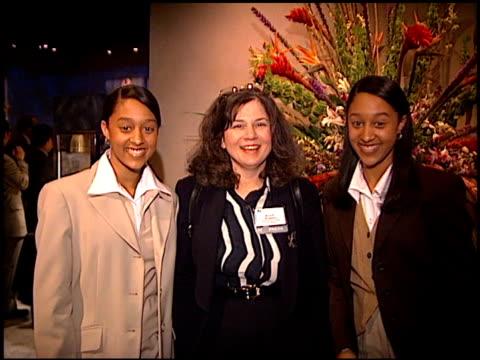 vídeos de stock e filmes b-roll de tia mowry at the natpe on january 15, 1997. - tia