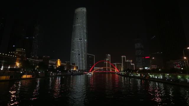 tianjin haihe river - hai river stock videos & royalty-free footage