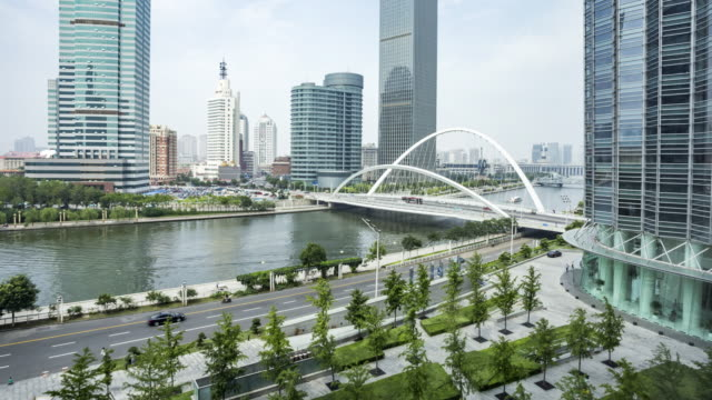 tianjin haihe river - tianjin stock videos and b-roll footage