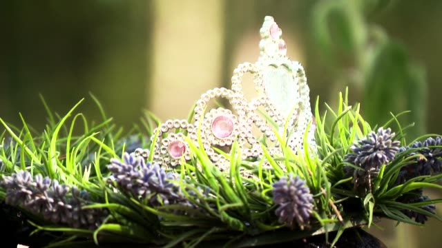 tiara - wreath stock videos & royalty-free footage