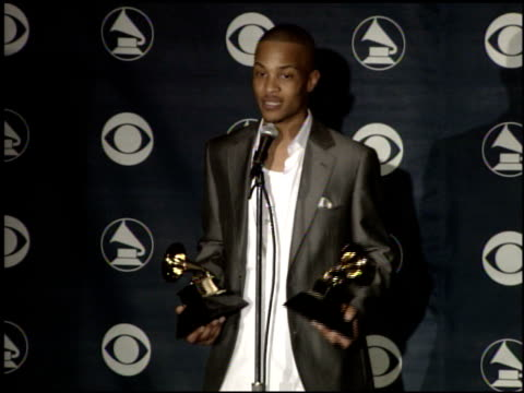 Best Rap Solo Performance at the 2007 Grammy Awards press room at Staples Center in Los Angeles California on February 11 2007