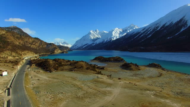Tibet Landschaft, Tibet, China.