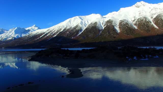 チベットの風景、チベットや中国ます。 - 鎖橋点の映像素材/bロール