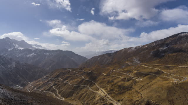 tibet's scenery - rolling landscape stock videos & royalty-free footage