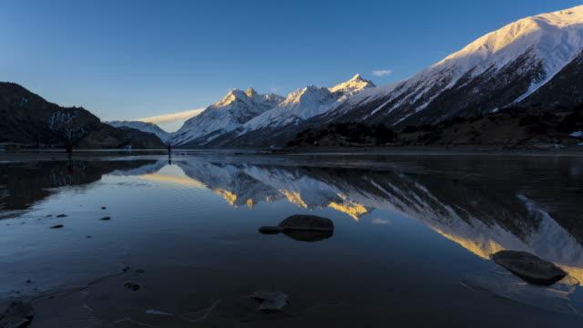 Tibet die Landschaft