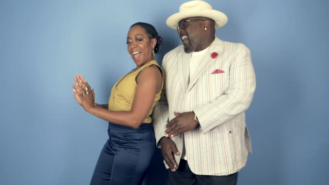 Tichina Arnold and Cedric the Entertainer of CBS's 'The Neighborhood' at the 2018 Summer TCA at The Beverly Hilton Hotel on August 5 2018 in Beverly...