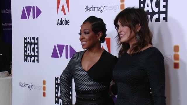 Tichina Arnold Mariska Hargitay at 68th Annual ACE Eddie Awards in Los Angeles CA