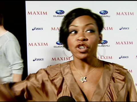 Tichina Arnold on the event extreme sports and what she does to the extreme at the Maxim Magazine's ICU Event at Area in Los Angeles California on...