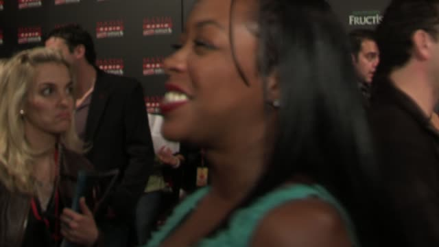 tichina arnold talks about the list and the party at the 2006 maxim hot 100 party at buddha bar in new york, new york on may 18, 2006. - ブッダバー点の映像素材/bロール