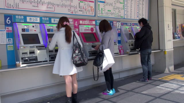 ticket machines - machinery stock videos & royalty-free footage