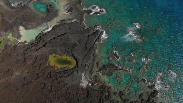 Tidal pond in Ahihi-Kinau Natural Area Reserve on the Hawaiian Island of Maui.