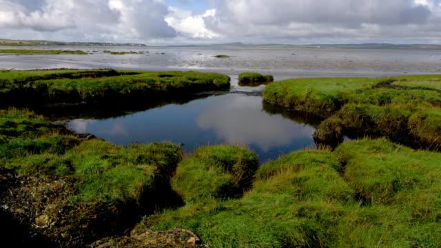 tidal pool near port ellen - ヘブリディーズ点の映像素材/bロール