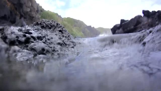 tide pools hawaii - tidal pool stock videos and b-roll footage