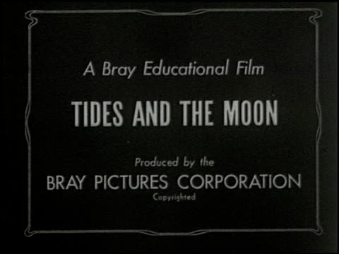 tides and the moon - 1 of 6 - see other clips from this shoot 2494 stock videos & royalty-free footage