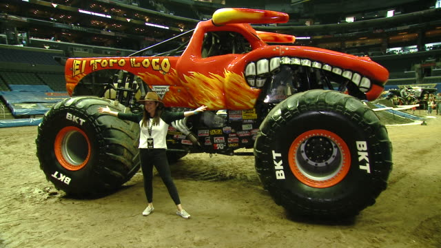 tiffani thiesen at monster jam celebrity event at staples center on july 13 2019 in los angeles california - tiffani thiessen stock videos & royalty-free footage