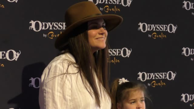 tiffani thiessen at the celebrity premiere of cavalia odysseo under the white big top on november 11 2017 in camarillo california - camarillo stock videos & royalty-free footage