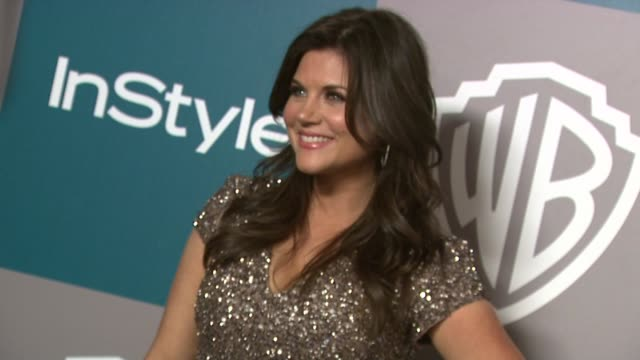 tiffaniamber thiessen at the 13th annual warner bros and instyle golden globe afterparty in beverly hills ca on 1/15/12 - tiffani thiessen stock videos & royalty-free footage