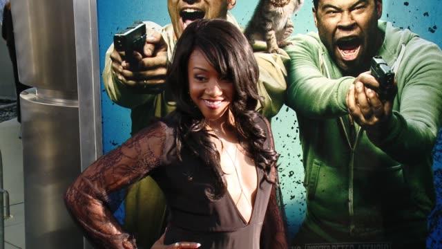 "vidéos et rushes de tiffany haddish at ""keanu"" los angeles premiere at arclight cinemas cinerama dome on april 27, 2016 in hollywood, california. - cinerama dome hollywood"