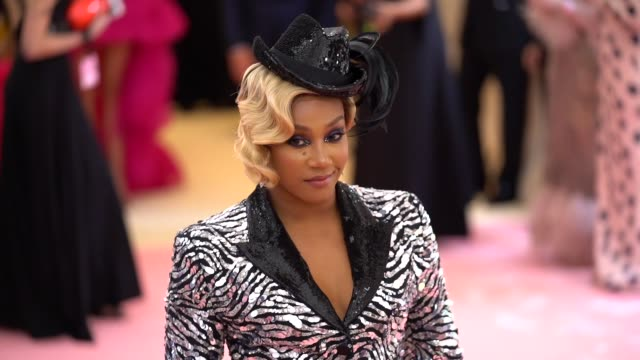 Tiffany Haddish at The 2019 Met Gala Celebrating Camp Notes on Fashion Arrivals at Metropolitan Museum of Art on May 06 2019 in New York City