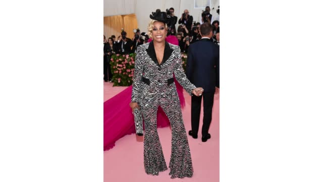 Tiffany Haddish attends The 2019 Met Gala Celebrating Camp Notes on Fashion at Metropolitan Museum of Art on May 06 2019 in New York City