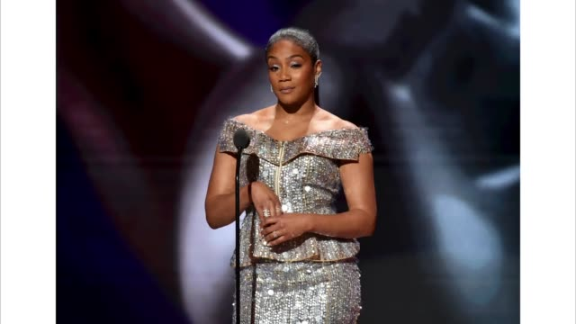 tiffany haddish speaks onstage during the 51st naacp image awards, presented by bet, at pasadena civic auditorium on february 22, 2020 in pasadena,... - pasadena civic auditorium stock videos & royalty-free footage