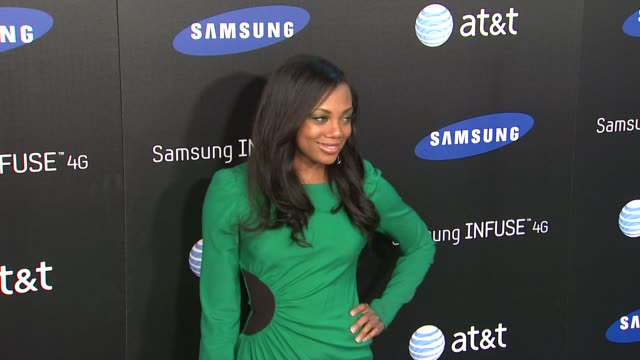 Tiffany Hines at the Samsung Infuse 4G For ATT Launch Event Featuring Nicki Minaj at Los Angeles CA