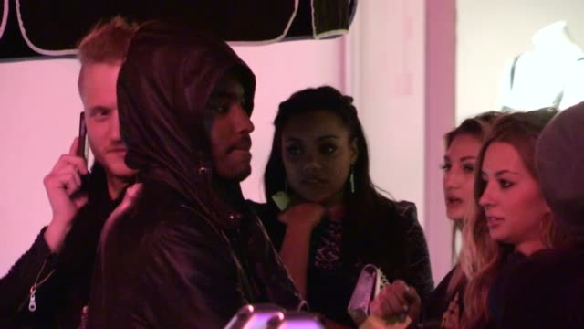 tiffany hines at vignette in west hollywood, 01/31/13 - vignette stock videos & royalty-free footage