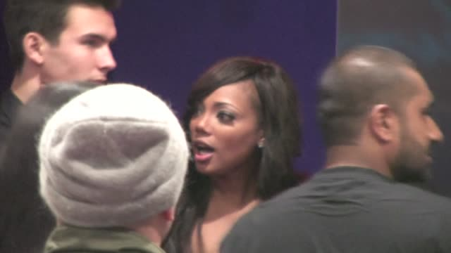 Tiffany Hines leaving Supper Club in Hollywood