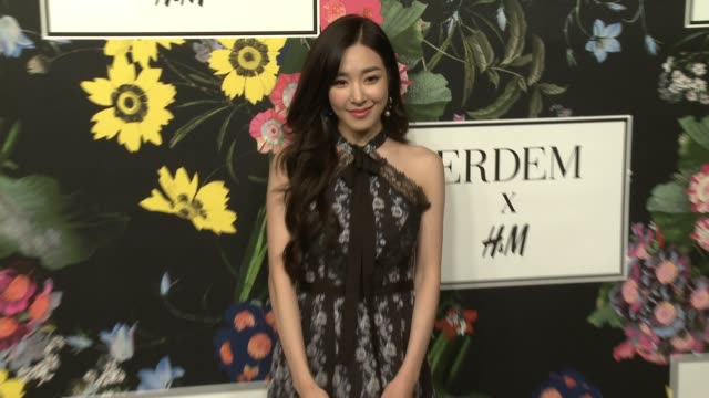 Tiffany Hwang at HM x ERDEM Runway Show Party at The Ebell Club of Los Angeles on October 18 2017 in Los Angeles California