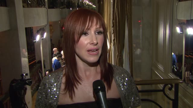 tiffany on the importance of being at the event and about phase one at the maxine nightingale rocks 'a night at the casbah' at the beverly wilshire... - phase image stock videos & royalty-free footage