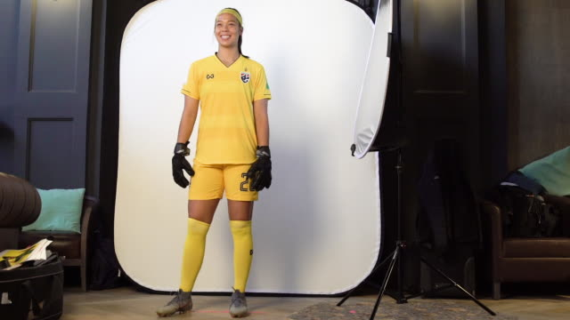 Tiffany Sornpao at FIFA Women's World Cup France 2019 Team Portrait Session on June 08 2019 in Reims