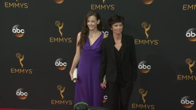 tig notaro at the 68th annual primetime emmy awards arrivals at microsoft theater on september 18 2016 in los angeles california - microsoft theater los angeles stock videos and b-roll footage