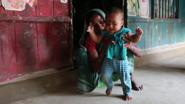 tiger widow shona moni describe the situation that he had faced in the society after tiger attack her husband inside sundarban bangladesh on april 12... - widow stock videos and b-roll footage