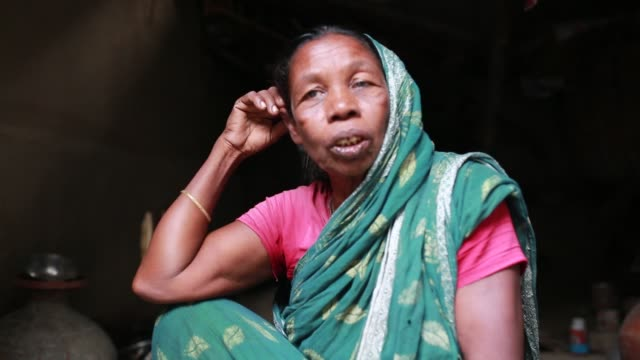 tiger widow shona moni describe the situation that he had faced in the society after tiger attack her husband inside sundarban , bangladesh on april... - widow stock videos & royalty-free footage