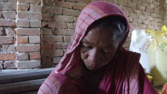 tiger widow shona moni describe the situation that he had faced in the society after tiger attack her husband inside sundarban at satkhira ,... - widow stock videos & royalty-free footage