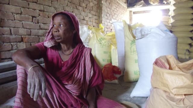 tiger widow shona moni describe the situation that he had faced in the society after tiger attack her husband inside sundarban at satkhira bangladesh... - widow stock videos and b-roll footage