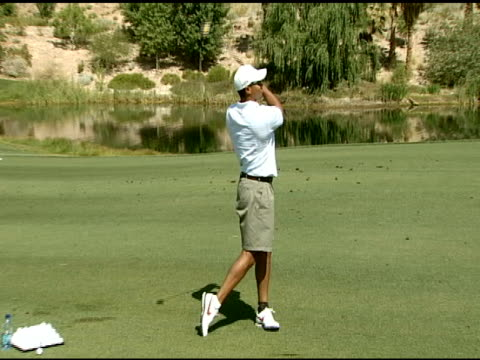 tiger woods at the tiger jam x golf clinic on may 25 2007 - tiger woods stock videos & royalty-free footage