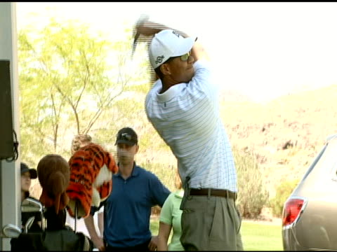 Tiger Woods at the Tiger Jam X Golf Clinic on May 25 2007
