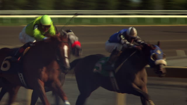 tight of a jockey 2 - horse racing stock videos & royalty-free footage