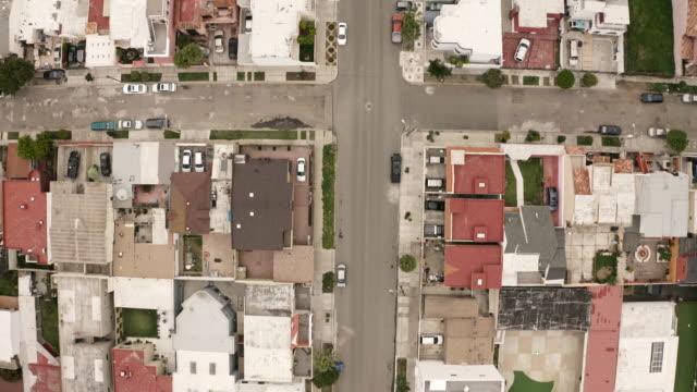 tijuana mexico top down aerial shot - tijuana stock videos & royalty-free footage