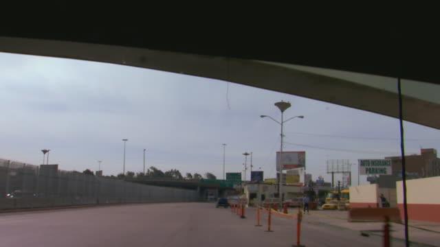 tijuana, mexicodriving on the highway in tijuana, mexico - baja california peninsula stock videos & royalty-free footage