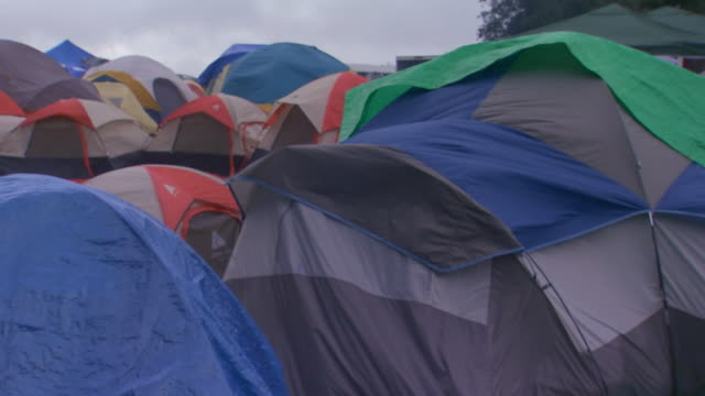 tijuana, mexicolarge group of tents - scout association stock videos & royalty-free footage
