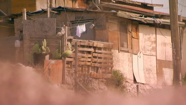 tijuana, mexiconeighborhood in tijuana, mexico - slum stock-videos und b-roll-filmmaterial