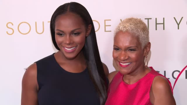 Tika Sumpter and Janice Acquista at Southside With You screening at Sunshine Landmark on August 24 2016 in New York City