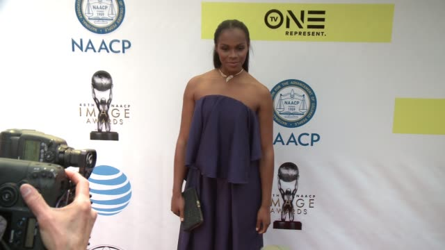 Tika Sumpter at 48th NAACP Image Awards at Pasadena Civic Auditorium on February 11 2017 in Pasadena California
