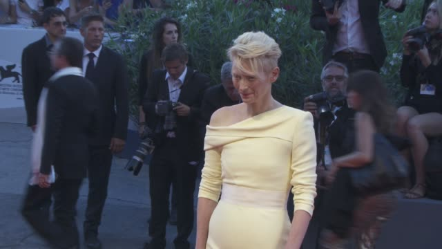Tilda Swinton at 'A Bigger Splash' Red Carpet 72nd Venice Film Festival at Palazzo del Cinema on September 06 2015 in Venice Italy