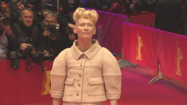 Tilda Swinton at 'Hail Caesar' Opening Ceremony Red Carpet 66th Berlin International Film Festival at Grand Hyatt Hotel on February 11 2016 in Berlin...