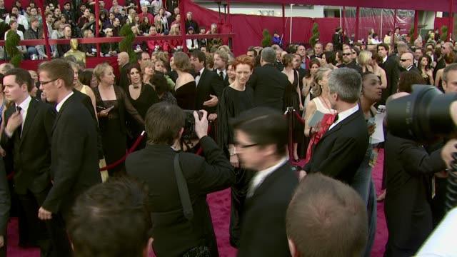 Tilda Swinton at the 2008 Academy Awards at the Kodak Theatre in Hollywood California on February 24 2008